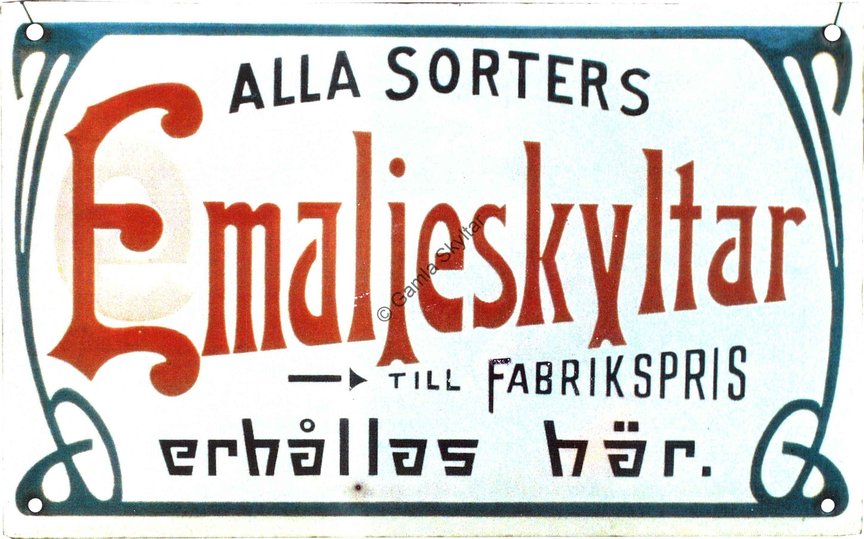 Emaljskyltar till Bafrikspris - Gamla Skyltar 347a7155c76ac