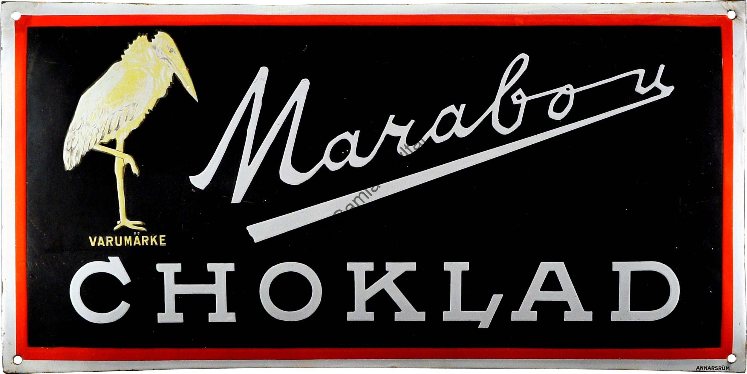 Marabou Choklad - Gamla Skyltar a4bf2322cd717