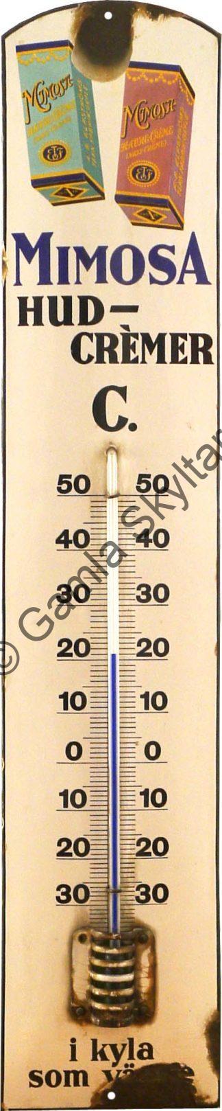 Termometer arkiv Gamla Skyltar