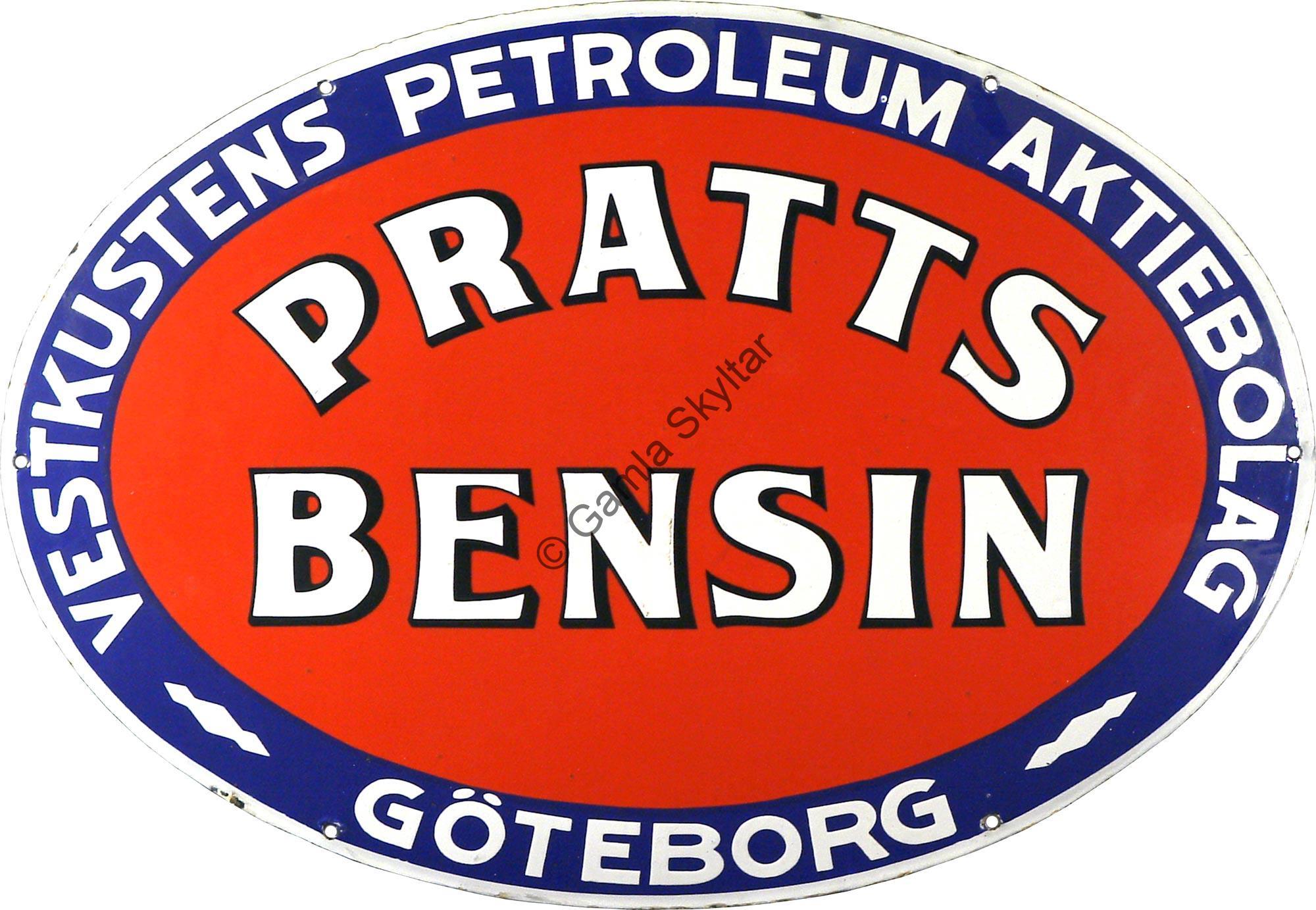 Pratts Bensin Göteborg - Gamla Skyltar 0d36743b7e156