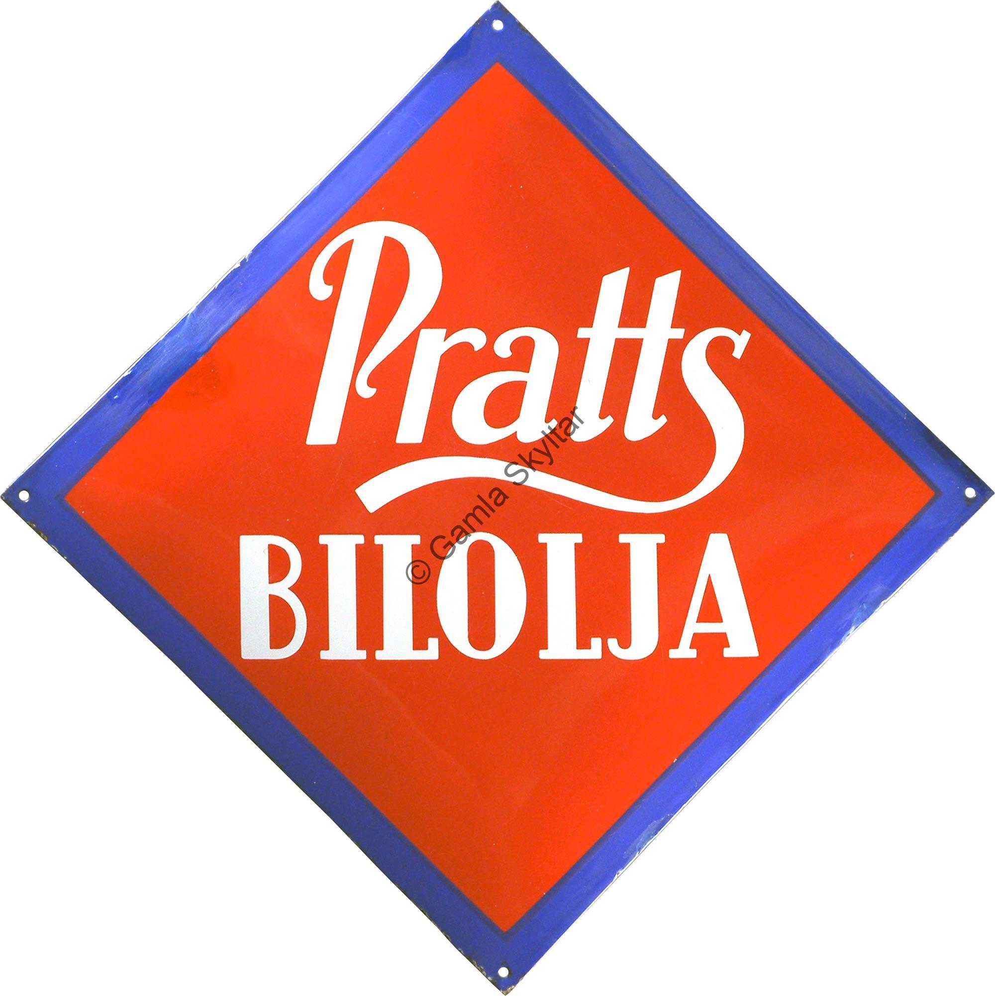 Pratts Bilolja - Gamla Skyltar 8728c6e1e955e