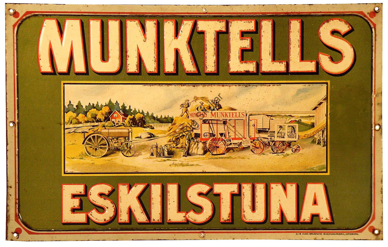 Munktell - Gamla Skyltar 83eddf5c3a060