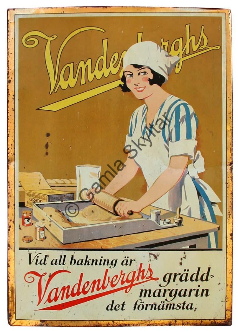 Vandenberghs Margarin - Gamla Skyltar 4a3caeac2dd35